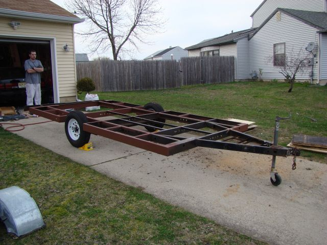 Homemade Travel Trailer Project - Sunline Coach Owner\'s Club
