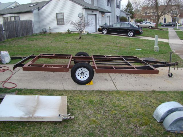 Homemade Travel Trailer Project - Sunline Coach Owner's Club